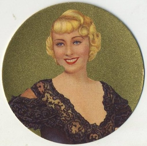 Joan Blondell 1939 Rothmans Beauties of the Cinema Tobacco Card