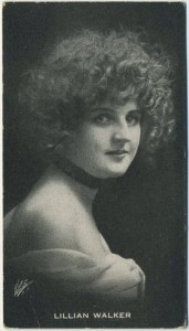 Lillian Walker circa 1917 Trading Card of anonymous issue