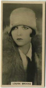Louise Brooks 1929 Carreras tobacco card
