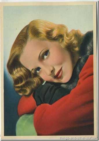 Jean Arthur 1936 Nestles
