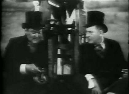 Edward Arnold and Eric Blore