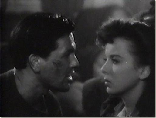 John Garfield and Ida Lupino