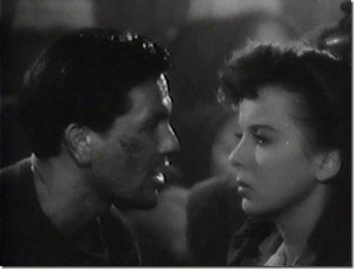 John Garfield and Ida Lupino