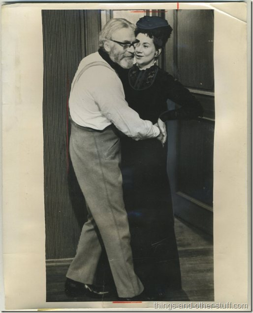 1969 Sir Laurence Olivier and Joan Plowright