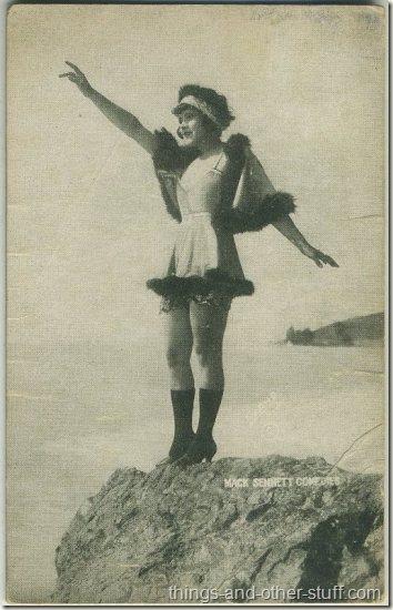 Marie Prevost 1920s Mack Sennett Comedies Arcade Card
