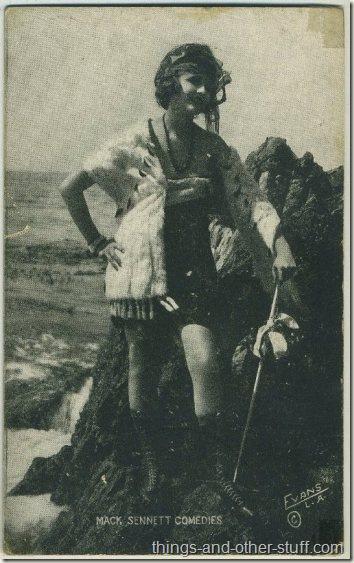 Harriet Hammond 1920s Mack Sennett Comedies Arcade Card
