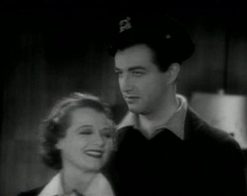 Janet Gaynor and Robert Taylor in Small Town Girl
