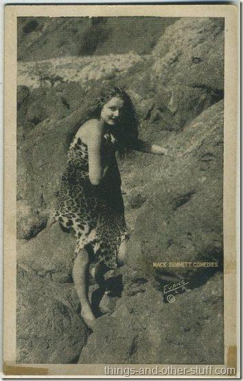 Unidentified 1920s Mack Sennett Comedies Arcade Card