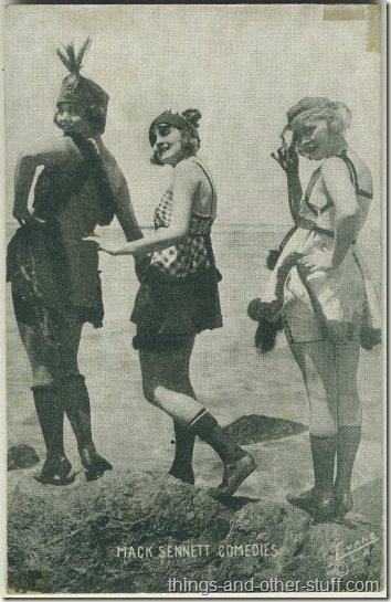 Phyllis Haver Harriet Hammond 1920s Mack Sennett Comedies Arcade Card