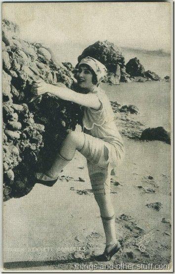 Myrtle Reeves 1920s Mack Sennett Comedies Arcade Card