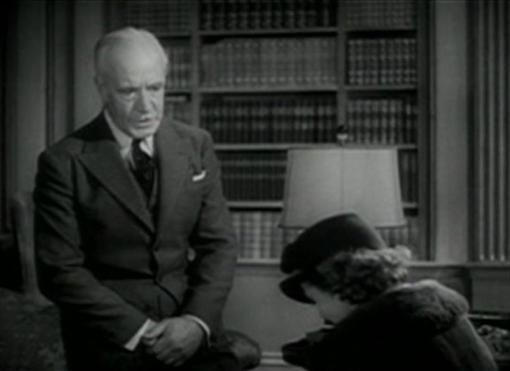Lewis Stone and Janet Gaynor in Small Town Girl