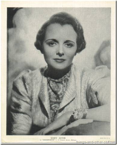 Mary Astor 1936 R95 8x10 linen textured premium photo promoting Dodsworth