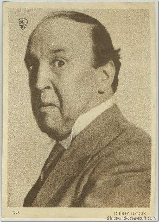 Dudley Digges 1930s Uruguay tobacco premium