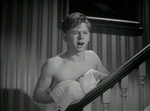 Mickey Rooney in A Family Affair