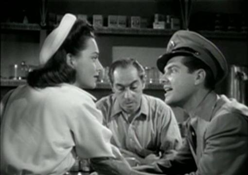 Olivia de Havilland and Robert Cummings in Princess O'Rourke