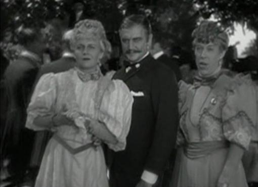 Ann Harding, Richard Dix and Edna May Oliver in The Conquerors