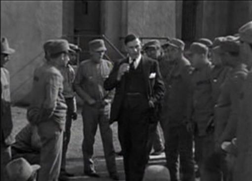 Walter Huston in The Criminal Code