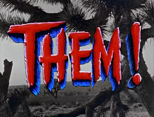 Them! Color Title Card