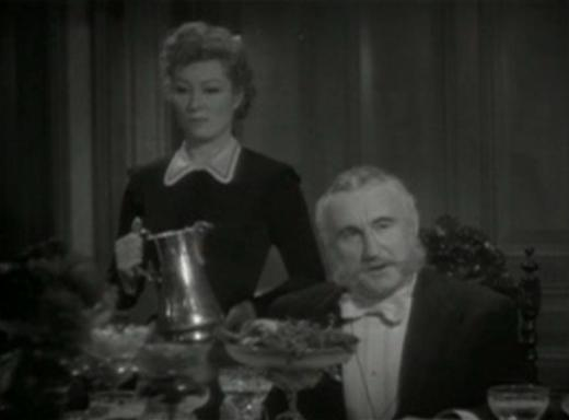 Greer Garson and Donald Crisp in The Valley of Decision