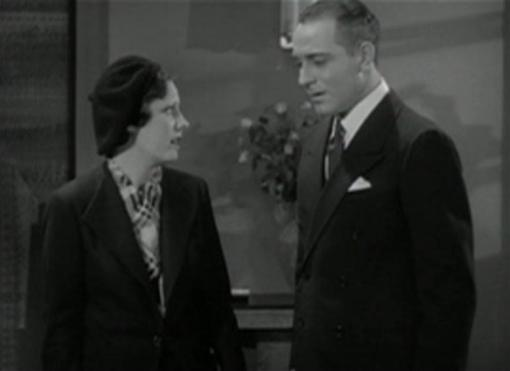 Irene Dunne and Ricardo Cortez in Symphony of Six Million
