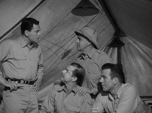John Agar in The Mole People