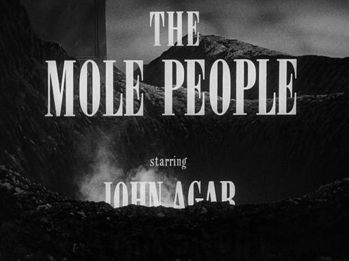 The Mole People opening credits
