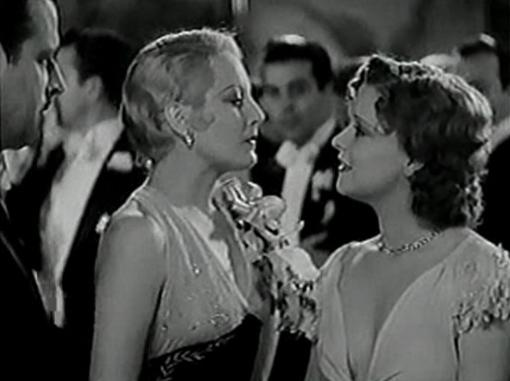 Thelma Todd and Clara Bow in Call Her Savage