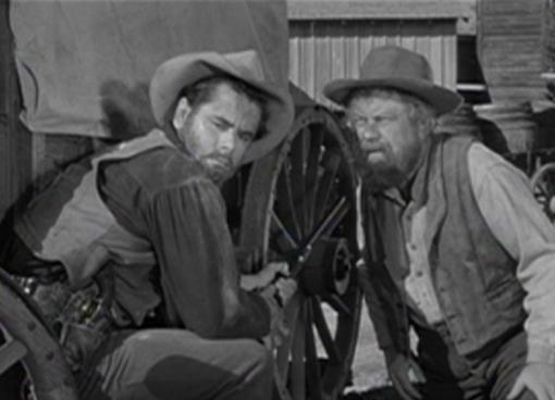 Glenn Ford and Edgar Buchanan