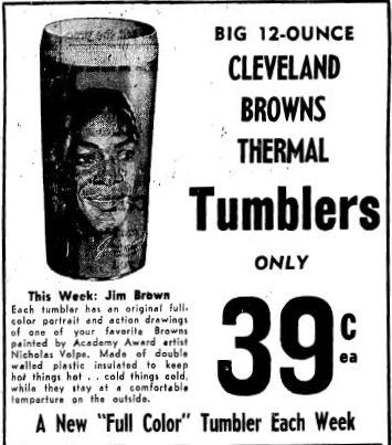 Cleveland Browns Thermal Tumblers