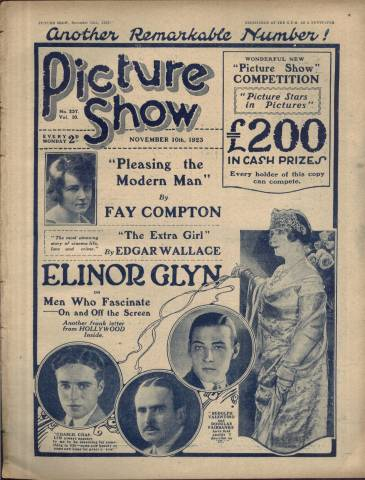 Picture Show Magazine November 10 1923