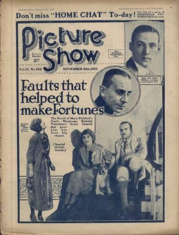 Picture Show Magazine November 24 1923