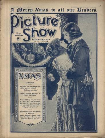 Picture Show Magazine December 8 1923