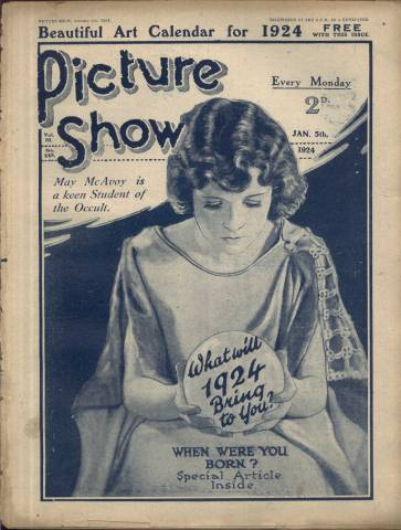 Picture Show Magazine January 5 1924