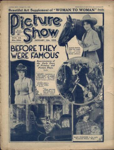 Picture Show Magazine January 12 1924