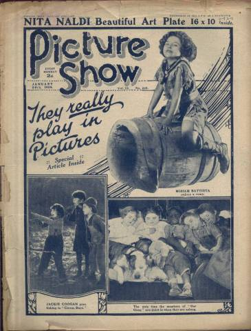 Picture Show Magazine January 26 1924