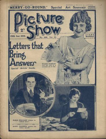 Picture Show Magazine February 2 1924