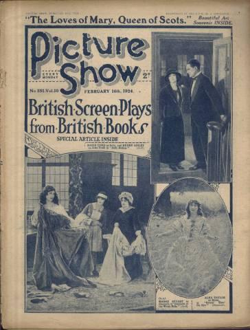 Picture Show Magazine February 16 1924