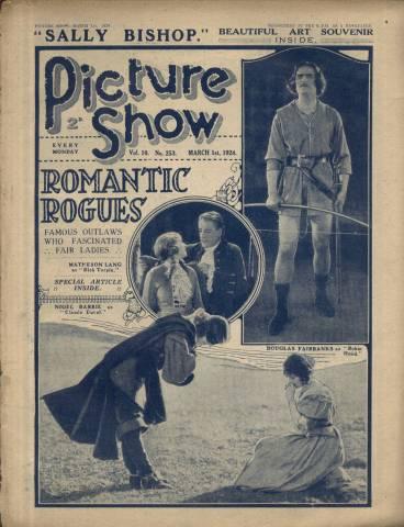 Picture Show Magazine March 1 1924