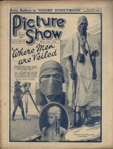 Picture Show Magazine March 29 1924