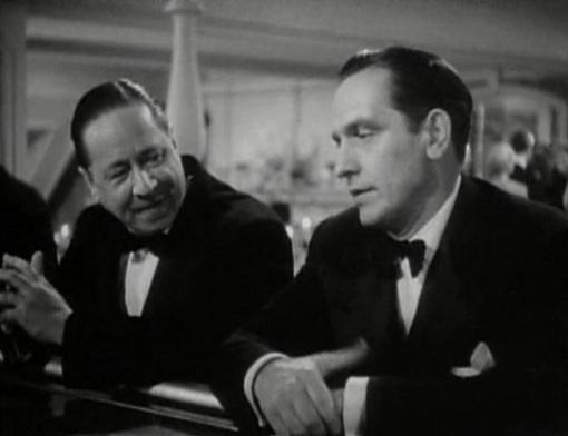 Robert Benchley and Fredric March