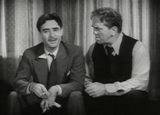 John Gilbert and Louis Wolheim in Gentlemans Fate