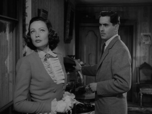 Gene Tierney and Tyrone Power