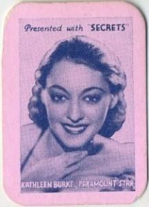 1935 Secrets Kathleen Burke