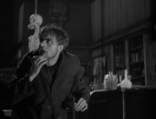 Dwight Frye in Frankenstein