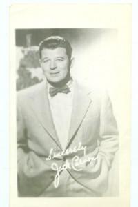 Jack Carson Fan Photo