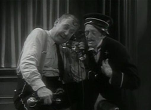 Spencer Charters and Clarence Wilson in Jewel Robbery