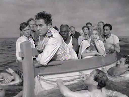 Tyrone Power in Abandon Ship