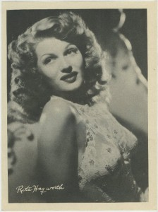 Rita Hayworth 1946 Motion Picture Magazine Premium