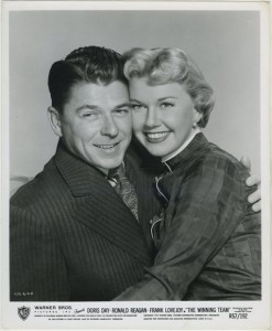 Ronald Reagan and Doris Day Still Photo