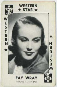 Fay Wray 1938 Movie Millions Card